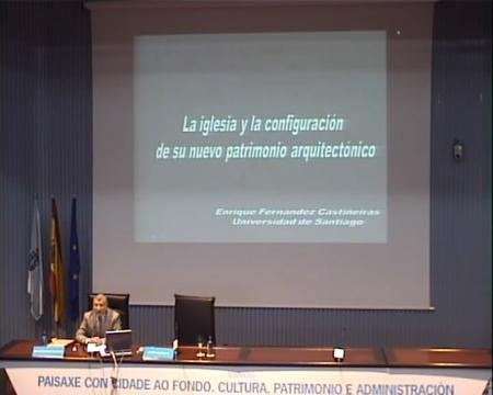 Enrique Fernández Castiñeiras, departamento de Historia da Arte da Universidade de Santiago de Compostela